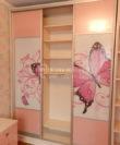 Фото шкаф-купе в детскую комнату для девочки, розовый шкаф-купе Буча Киев