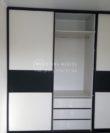 Современный шкаф-купе фото, фасад комбинированный ДСП, Белая Церковь, Коцюбинское, Ирпень